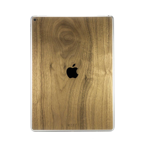 Wooden iPad and Pencil Skins