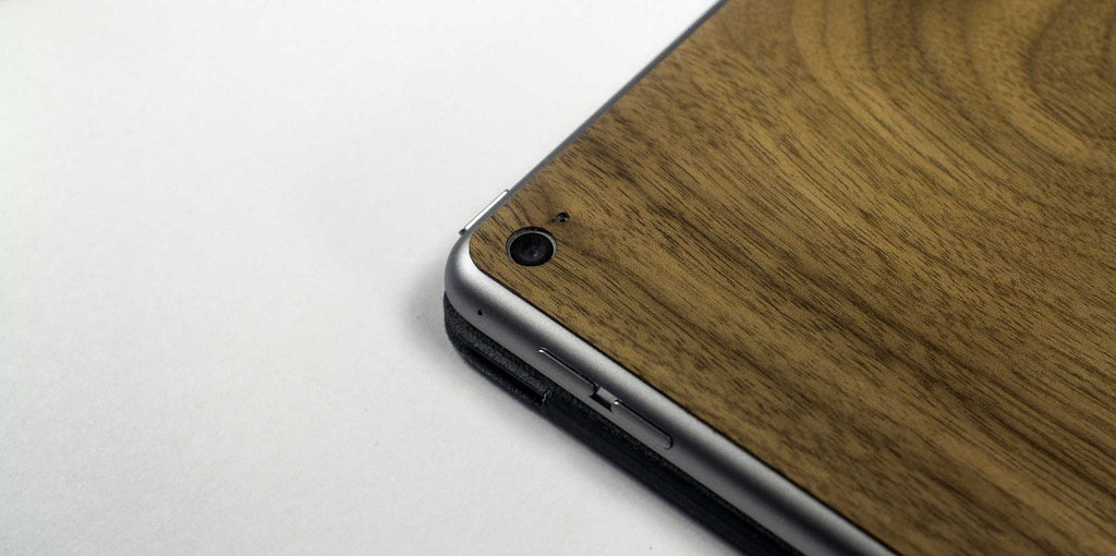 iPadPro Wood Skin - Lifestyle