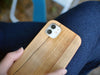 maple wood iPhone 11 wooden case, KerfCase