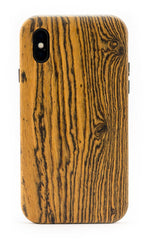 Wooden iPhone X Cases - Bocote Wood - KerfCase