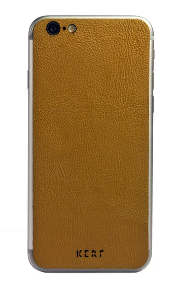 Leather iPhone Skin Real Leather