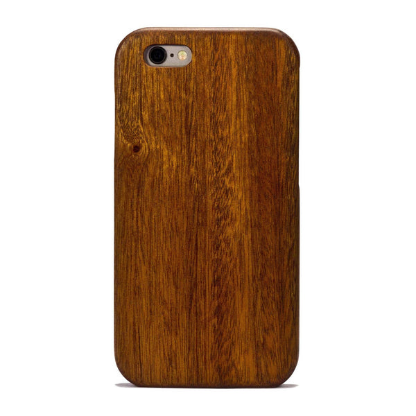 quality design a7056 8306b Mahogany Wood Case for iPhone 8 Plus
