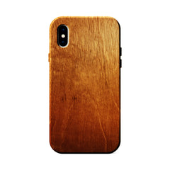 Mahogany Wood Case for iPhone X