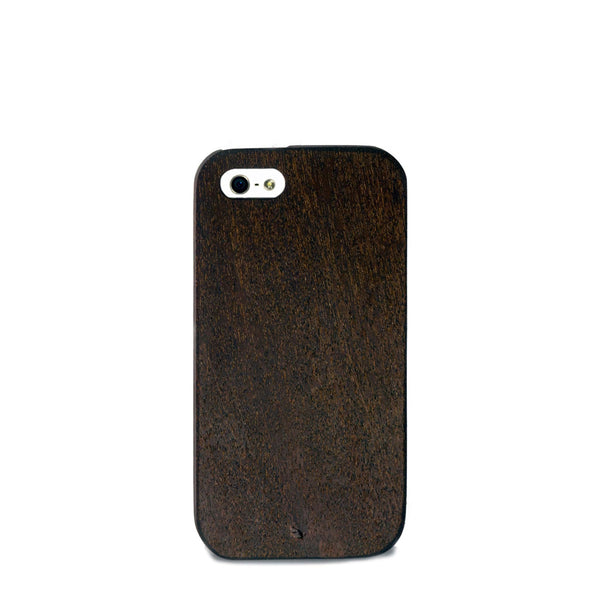 iPhone SE Case - Mahogany Wood