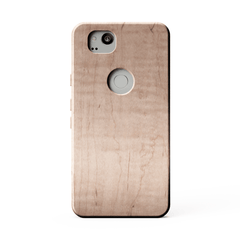 maple wood kerfcase wood case for google pixel 2