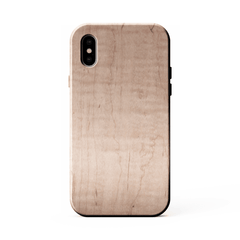 maple iPhone X kerfcase wood phone case