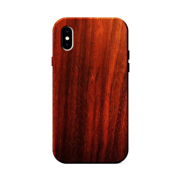 Padauk Wood Case for iPhone X