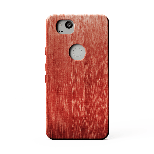 purpleheart kerfcase wood case for google pixel 2