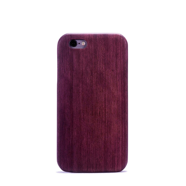 Purple Heart Wood case for the iPhone 6 and iPhone 6 Plus