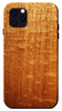figured sapele wood iPhone 11 pro max kerf phone case