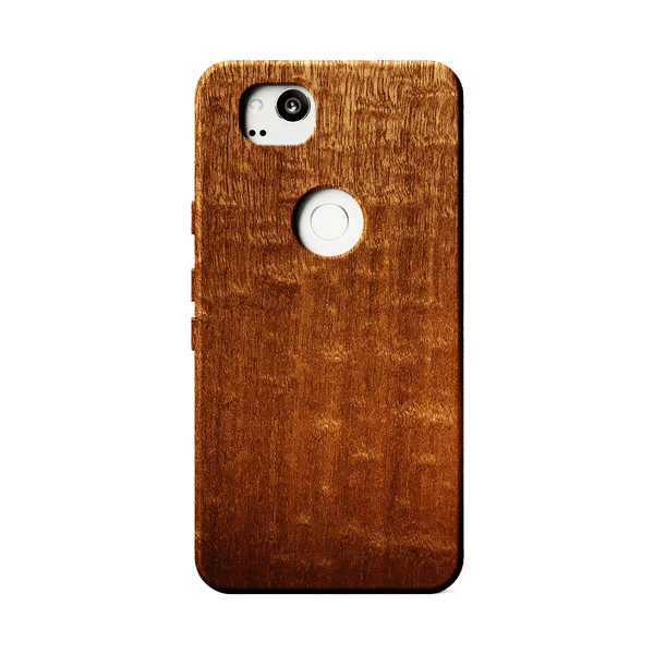 Figured Sapele Wood Case for Google Pixel 2