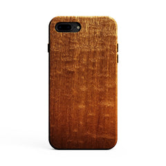Figured Sapele Wood Case for iPhone 8 Plus