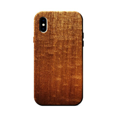 Figured Sapele Wood Case for iPhone X