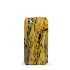 iPhone SE Case - spalted maple wood