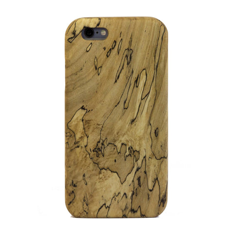 Spalted Maple Wood Case for iPhone 6 Plus / 6s Plus