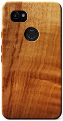 KerfCase Spalted Beech Wood Case for Google Pixel 2 XL
