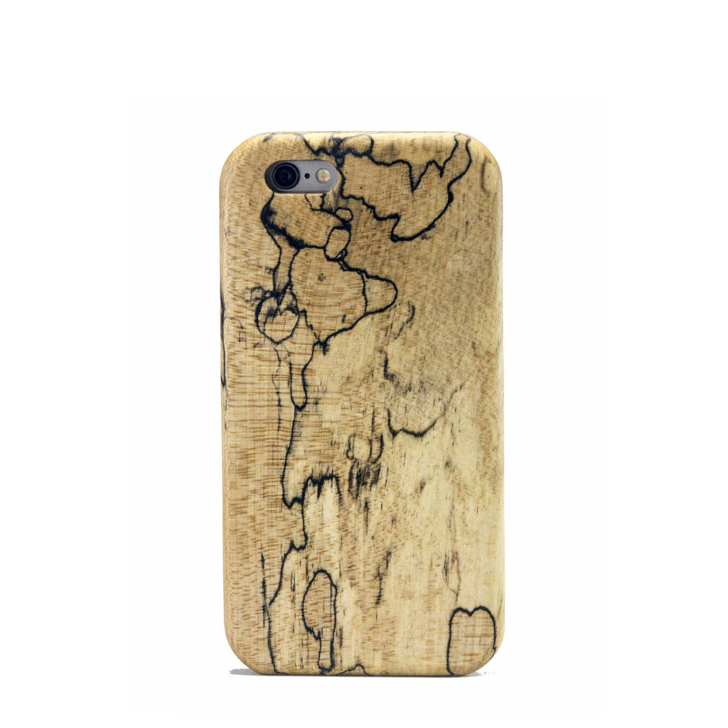 Spalted Maple Wood Case for iPhone 6/6s and 6/6s Plus - Lifestyle