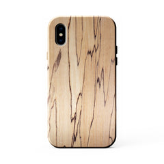 Spalted Maple Wood Case for iPhone X