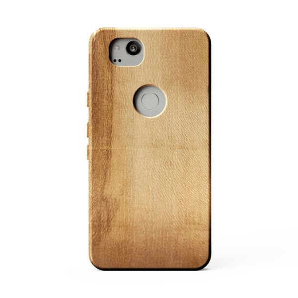 sycamore kerfcase wood case for google pixel 2