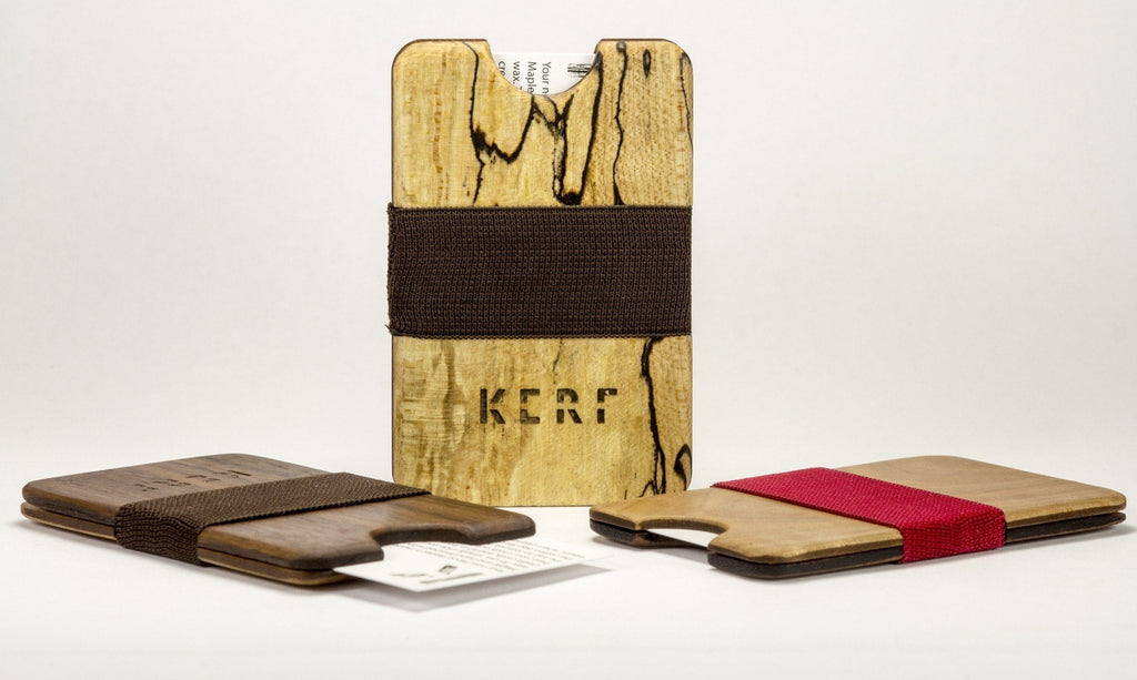 exotic wood wallets - lifestyle