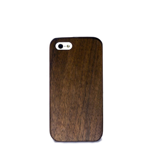 iPhone SE Case - Walnut Wood