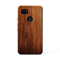 KerfCase Walnut Wood Phone Case for Google Pixel 2 XL