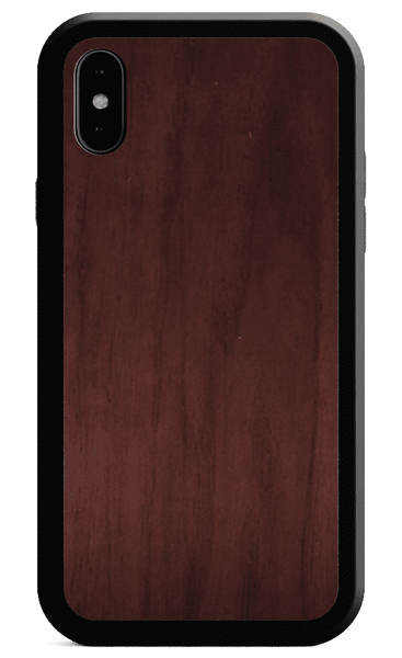 Alloy Wood and metal and leather wood case for iPhone 7 iPhone 8