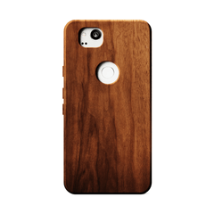 KerfCase Walnut Wood Phone Case for Google Pixel 2