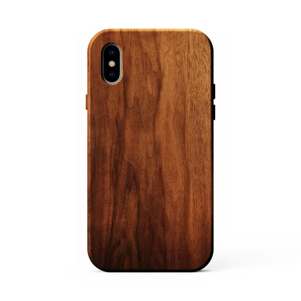 Kerf Walnut Wood Phone Case for iPhone X