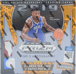 GROUP BREAK (12/6):  2019-20 Panini Prizm Draft Picks Basketball Hobby Box (1)