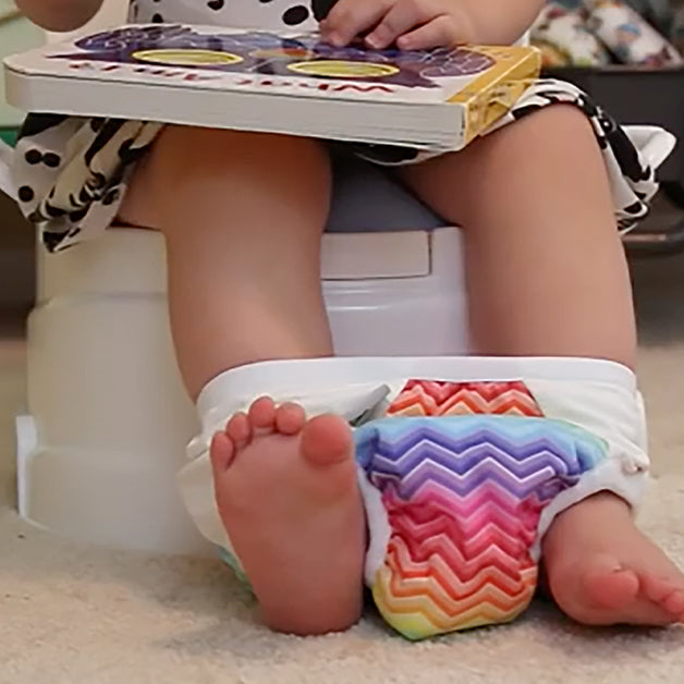 potty training with cloth toilet trainers