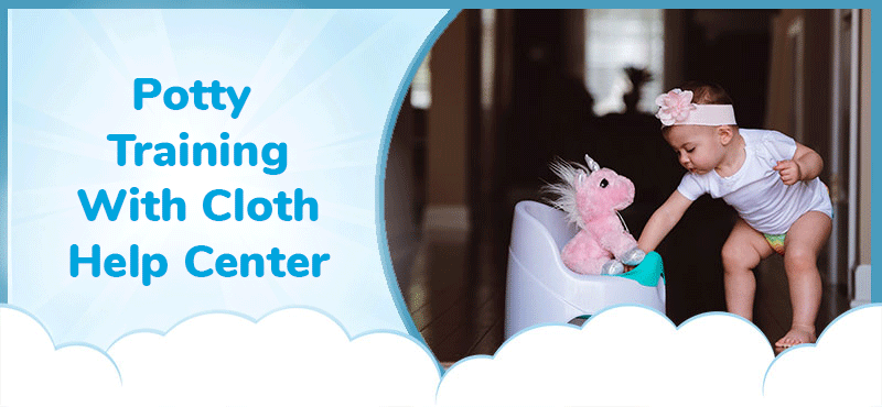 Potty Training With Cloth Help