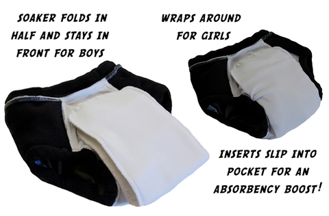 Brilliant construction of Nighttime Undies for bedwetting