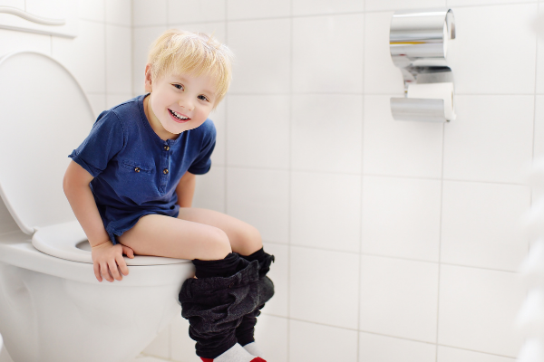 Potty Training A Boy