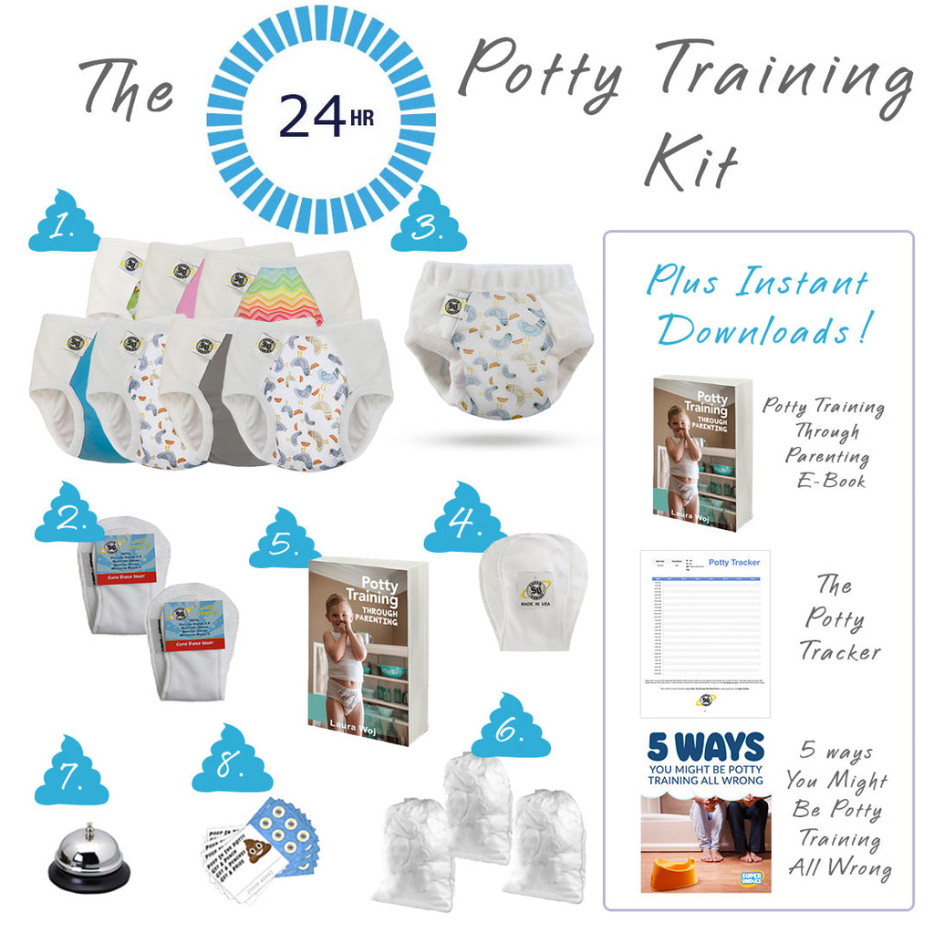 24 Hour Potty Training Package