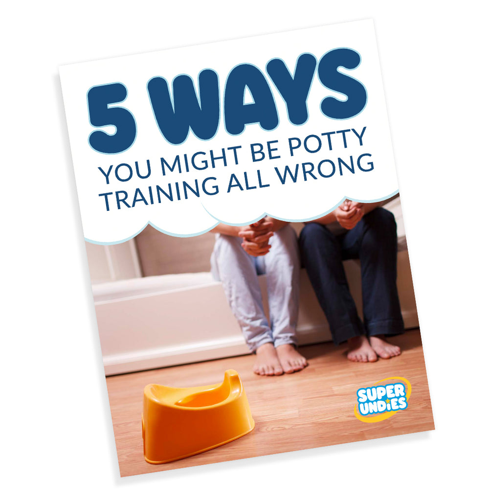 5 Ways You Might Be Potty Training All Wrong