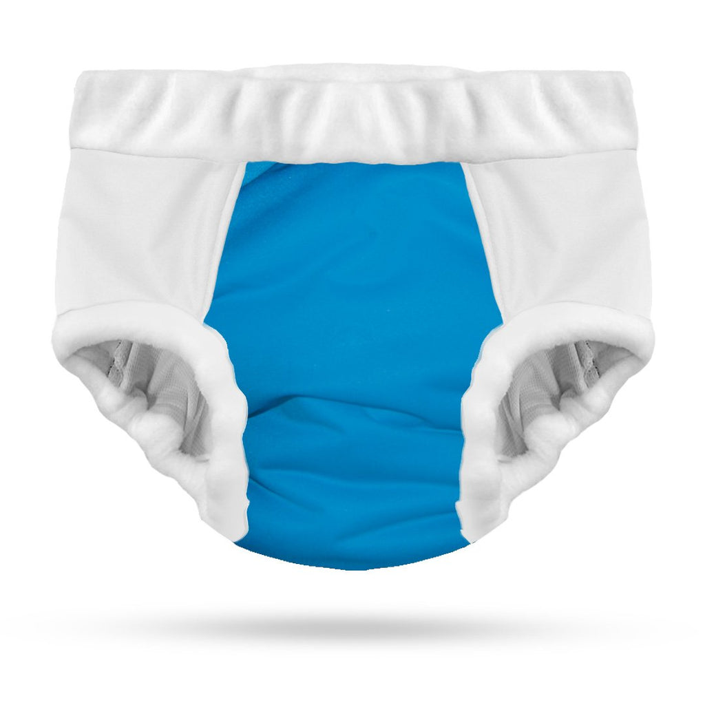Adult cloth diaper incontinence pants with 4 layers of absorbency