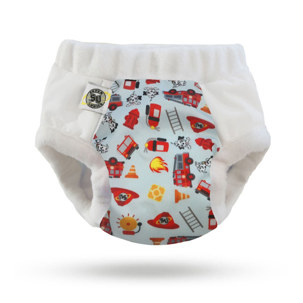Nighttime Undies Trainers; Fire Trucks Size 1