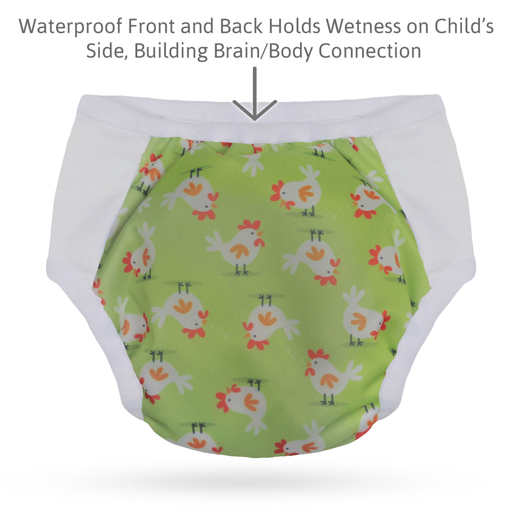 Potty Training Undies; Chick'n - S