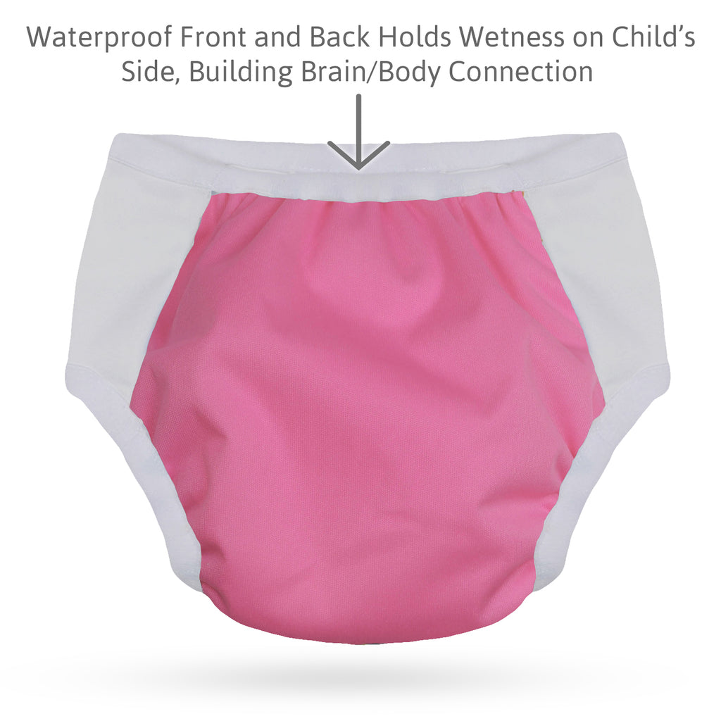Potty Training Undies; Pink - L
