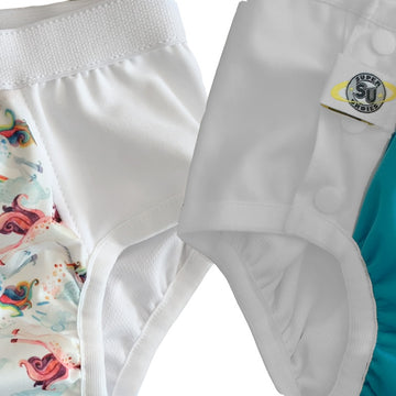 Big Kid Diapers with Snaps