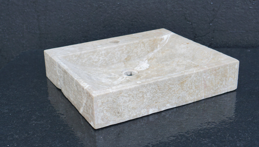 BUIXARDA Wall-hung washbasin. 50x43x10 cm