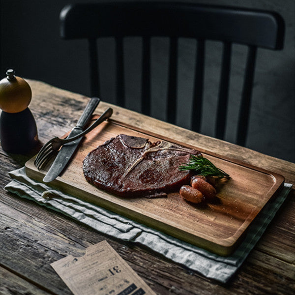 Wooden Plate | Steak Plate