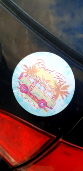 Roadtrip Sticker