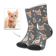 Load image into Gallery viewer, Custom Cat Socks
