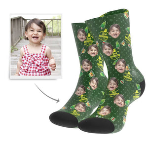 Christmas Gift Custom Face Socks (Daughter)