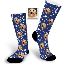 Load image into Gallery viewer, Custom Pet Face Socks