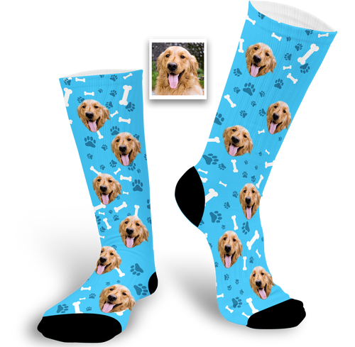 Custom Pet Face Socks