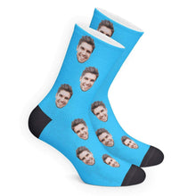 Load image into Gallery viewer, Custom Face Socks