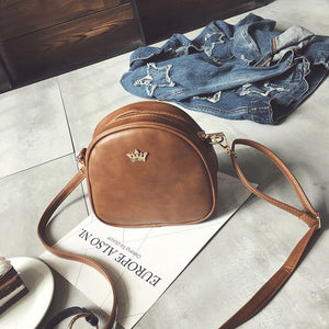 Bags for Women 2020 New Shoulder Bag Fashion Handbag Phone Purse Imperial Crown Pu Leather Women Small Shell Crossbody Bag